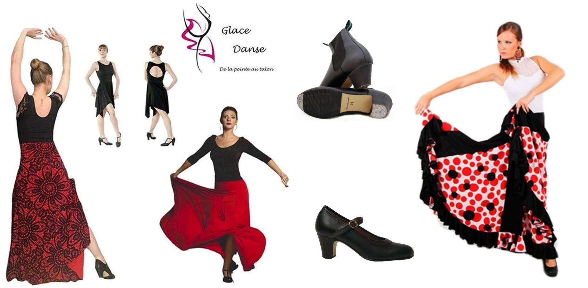 tenues de flamenco