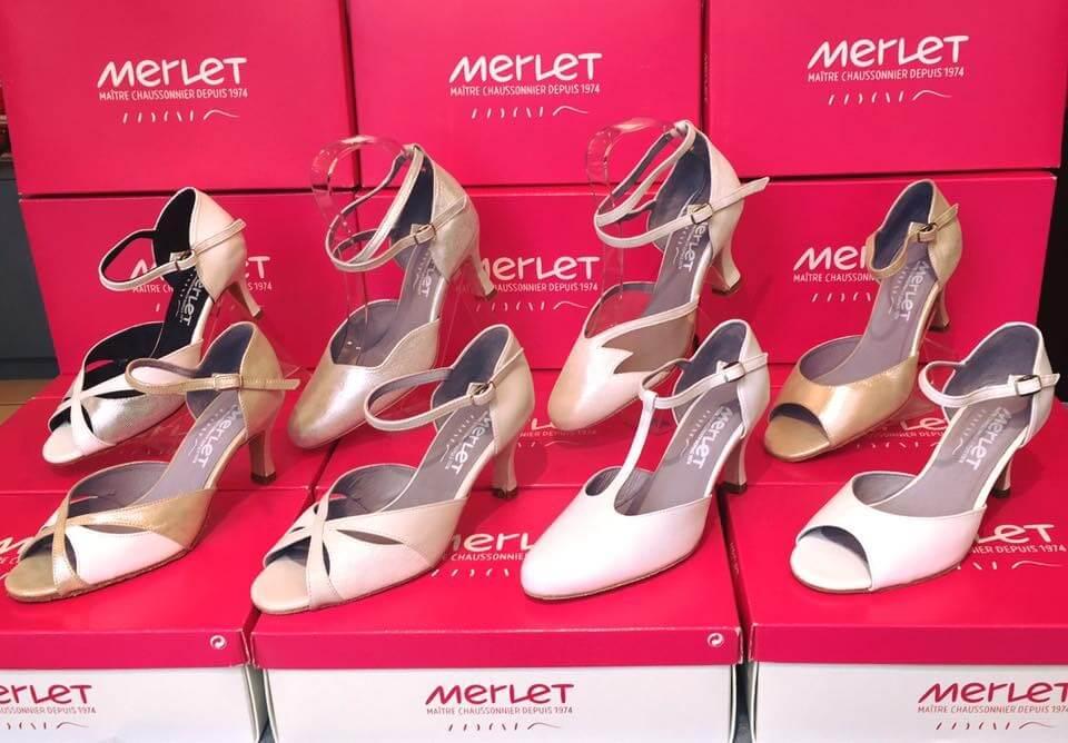 chaussure danse femme merlet