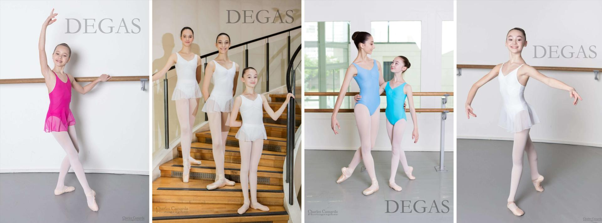 Tenues ecoles de danse Degas