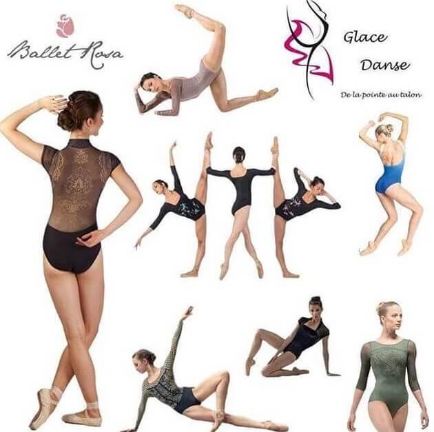 Justaucorps Ballet Rosa