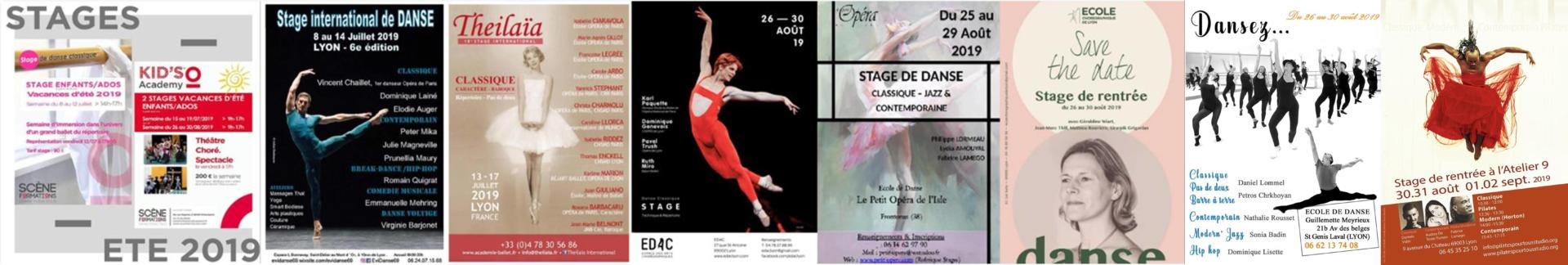 Stages de danse Lyon