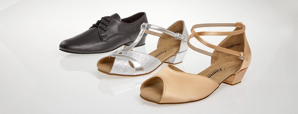 Diamant enfants chaussures danse