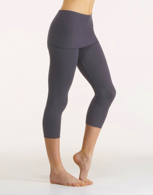 leggins gris court