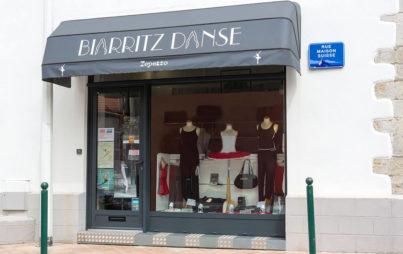 magasin biarrit danse devanture