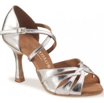chaussure danse argentee